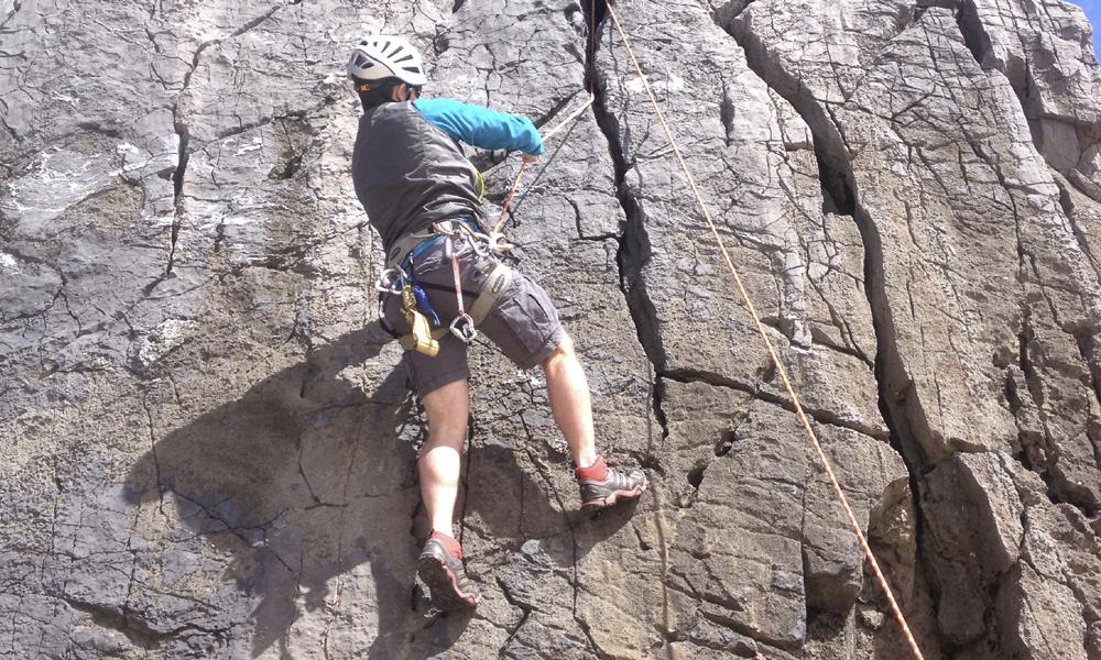 Problem solving for Rock Climbing Instructor assessment