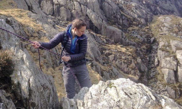 Steep ground skills: rope work in ascent