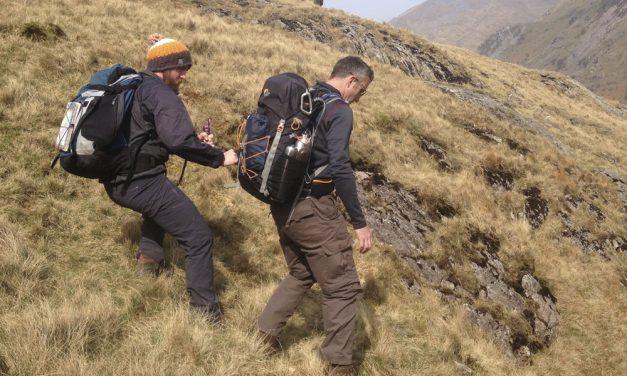 Steep ground skills: Emergency rope-work in descent