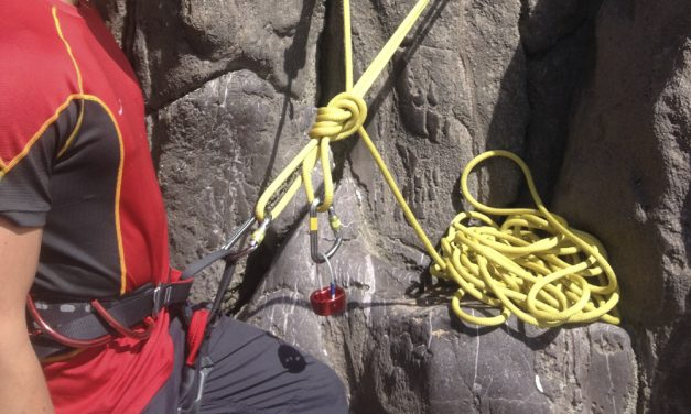 Top roping for Rock Climbing Instructor assessment